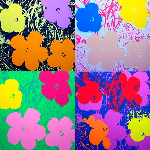 Andy Warhol – Flowers
