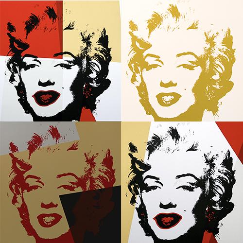 Andy Warhol-Golden Marilyn