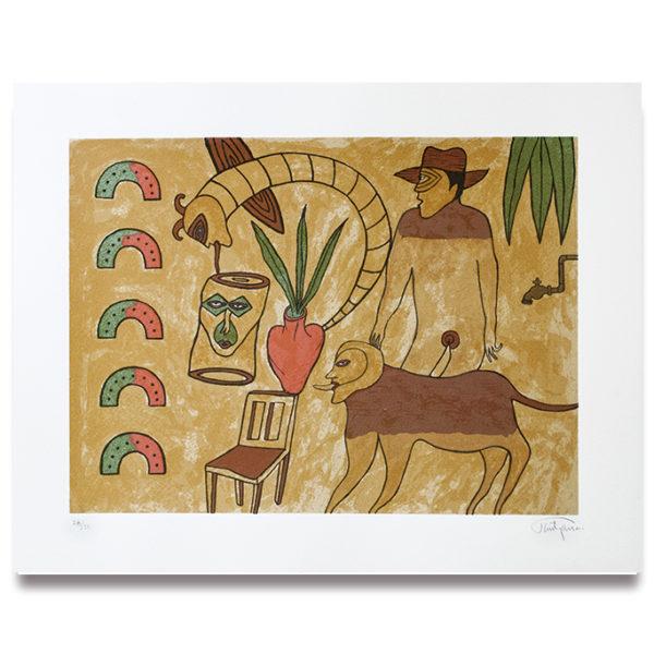 Soid Pastrana- serigrafía 1
