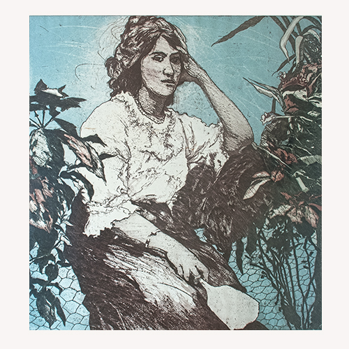 Carla Rippey- La mujer del espejo
